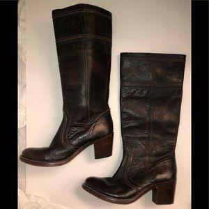 Authentic FRYE Jane Stitch 14l cowboy boots